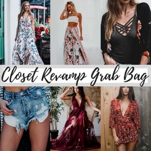 LAST FEW 4 PIECE Closet Revamp Grab Bag